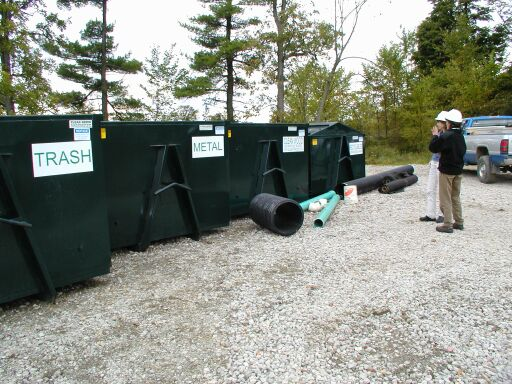 Jobsite Trash & Recycling Bins