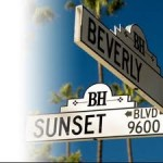 Sunset & Beverly Signs