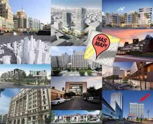 Los Angeles Developments Map