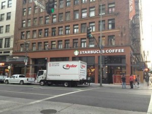 Starbucks on Spring Street