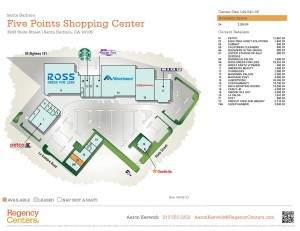 Five Points Shopping Center Leasing Plan