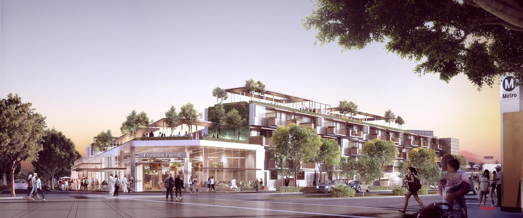 2013 LABC Livable Communities Report - Rendering by Gensler