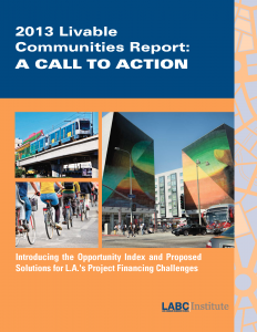 Miscellaneous Consulting - 2013 LABC Report Cover